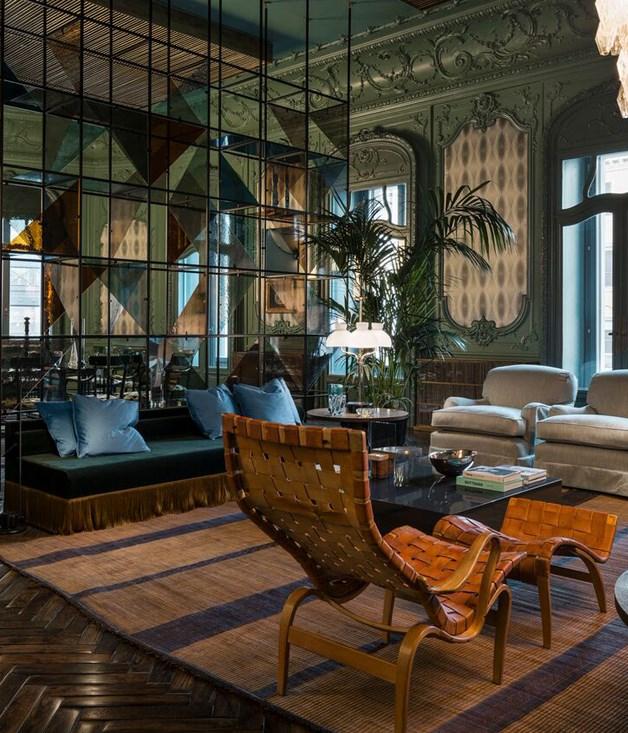 **Palazzo Prive, living room**