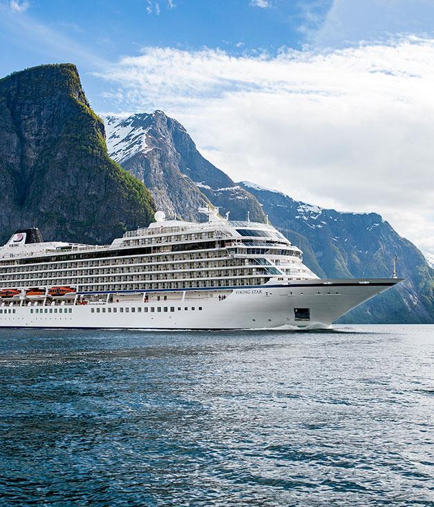 **Viking Ocean Cruise Line** Scenic mountainside cruising with Viking Ocean Cruises