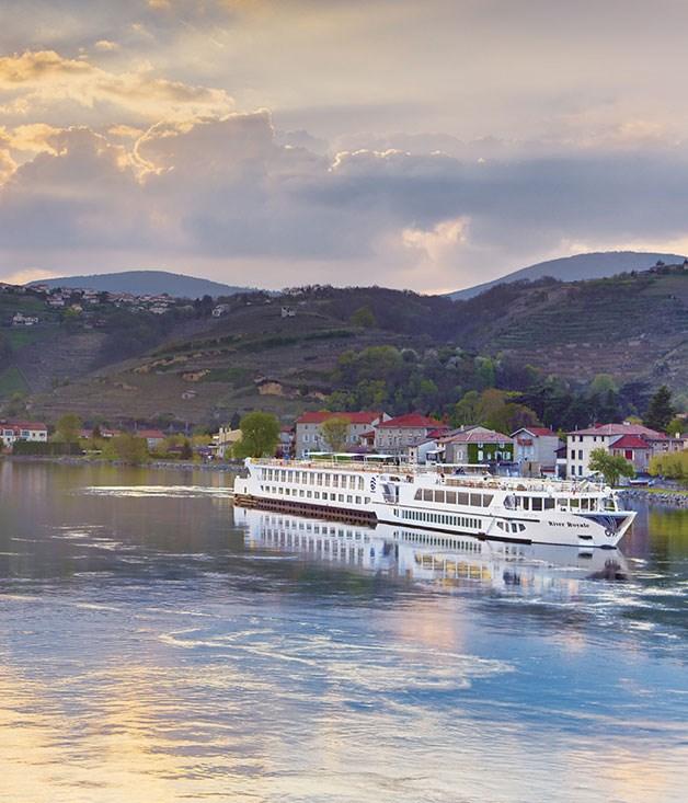 **Uniworld Cruises** The elegant River Royale Cruise Line captures the essence ofthe Bordeaux region
