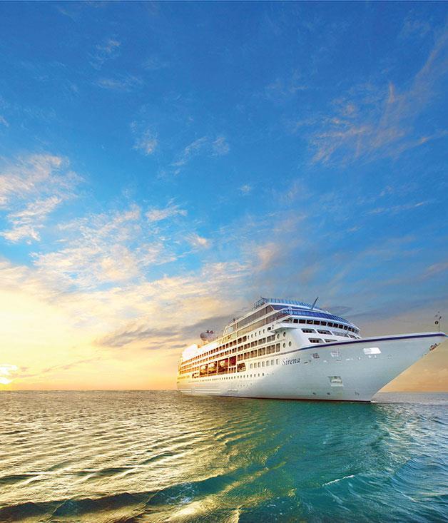 **Oceania Cruises** A magnificent sunrise on Oceania's Sirena cruise line
