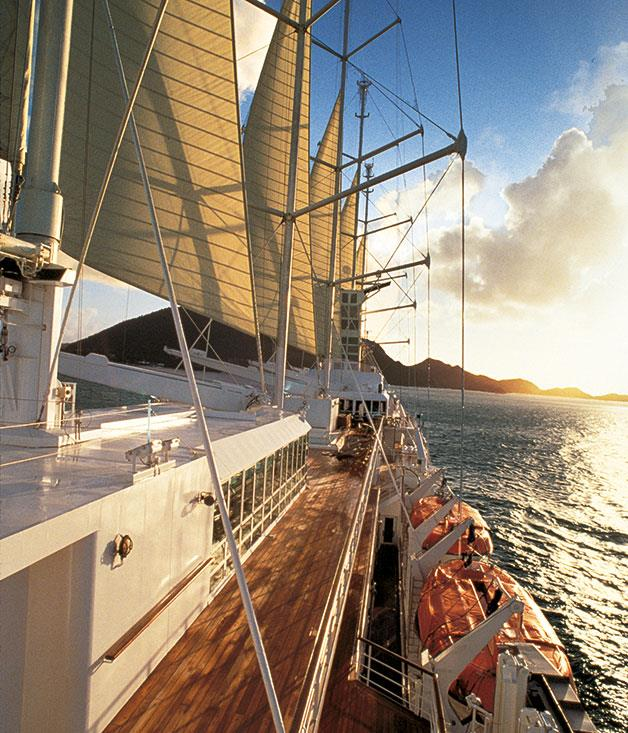 **Windstar Cruises** A luxurious Tahitian getaway with Windstar Cruises