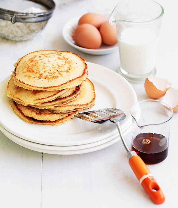 "[**Pancakes**](https://www.gourmettraveller.com.au/recipes/browse-all/pancakes-14140|target=""_blank"")"