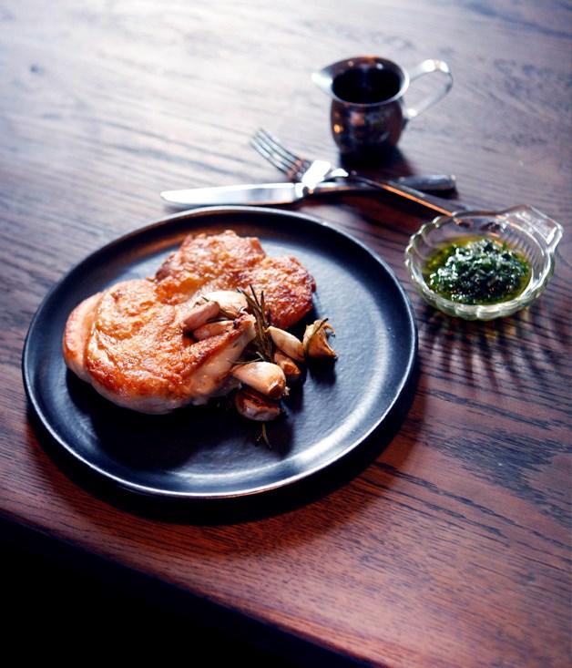 **Embla's roast chicken** Photography: Julian Kingma