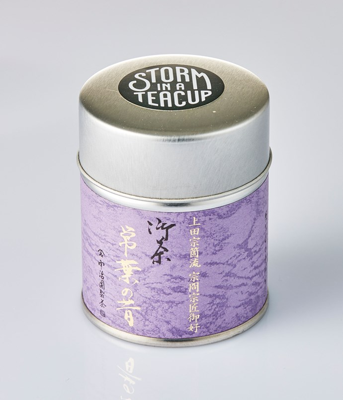 "**Storm in a Teacup** This savoury sencha tea remains true to traditional flavours; it's reminiscent of salty kale and seaweed. _Matcha Laced Sencha, $16 for 50gm, [storminateacup.com.au](/<a href="" http:/storminateacup.com.au/"" rel=""nofollow""> storminateacup.com.au </a>)_"