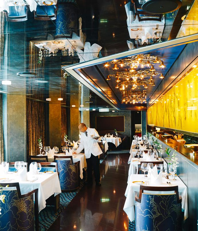 **The Pinacle Grill on the MS Noordam**