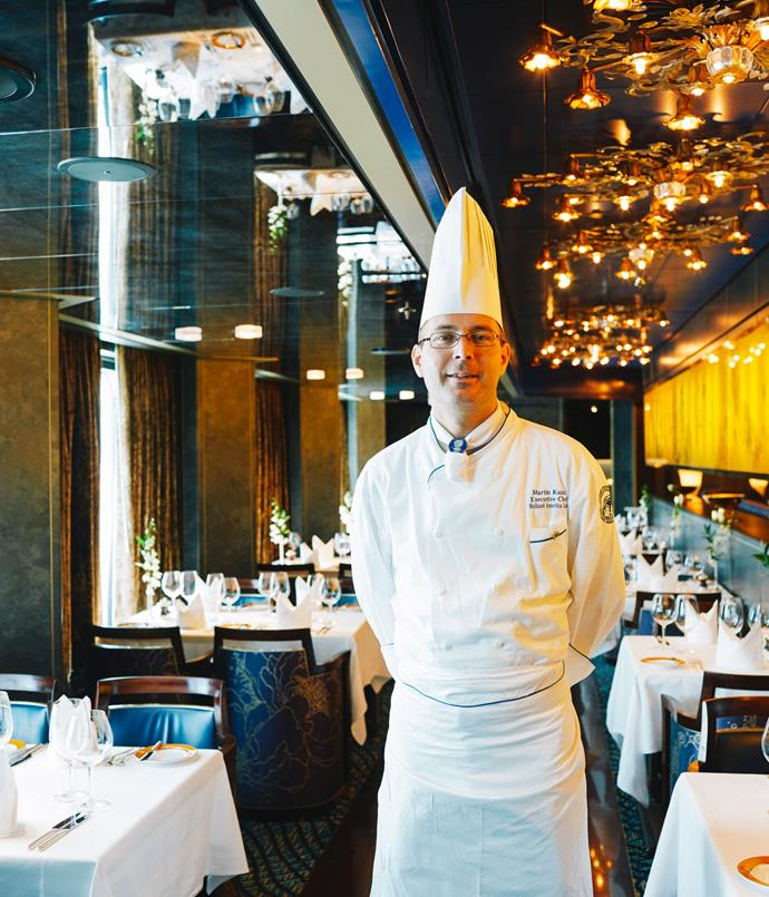 **Chef Martin Kusin of The Pinnacle Grill**