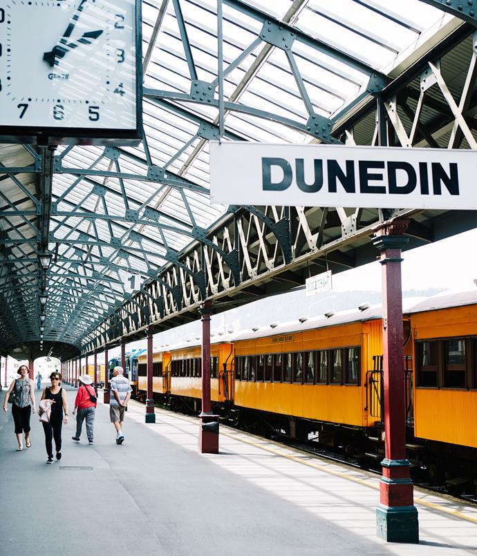**Dunedin Railway Station**