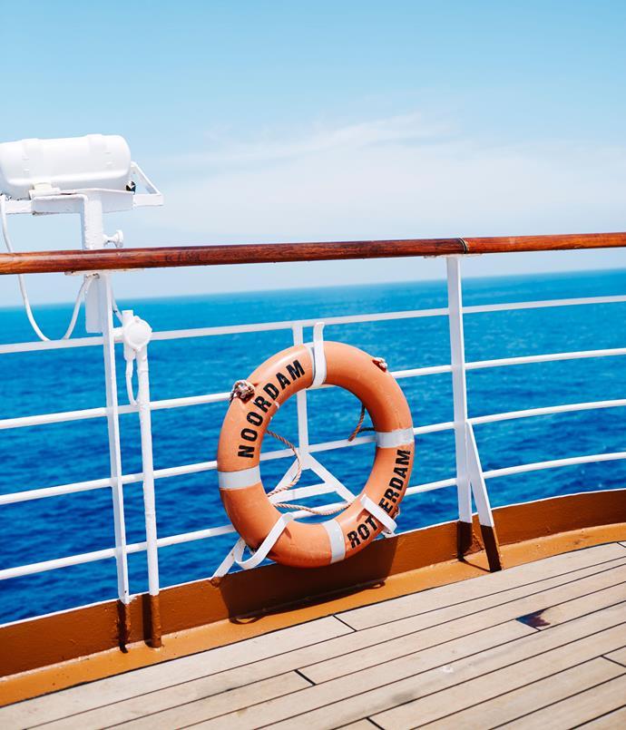 **On board the Noordam**