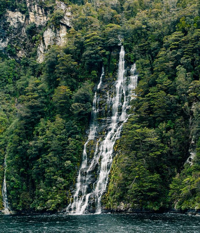 **Waterfall at Dusky Sound**
