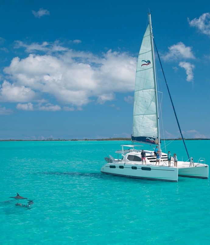 **The Moorings yacht charter** The Moorings luxury yacht charter company in the Bahamas.