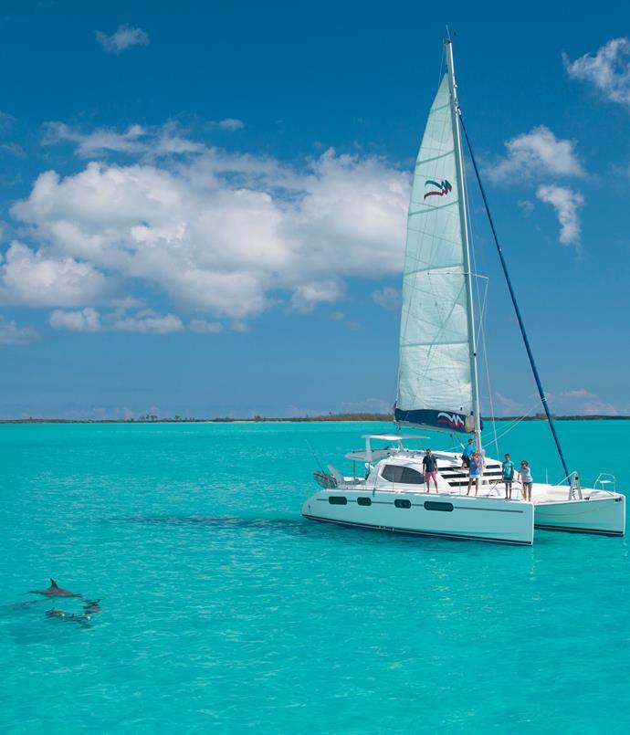 **The Moorings yacht charter** The Moorings luxury yacht charter company in the Bahamas.
