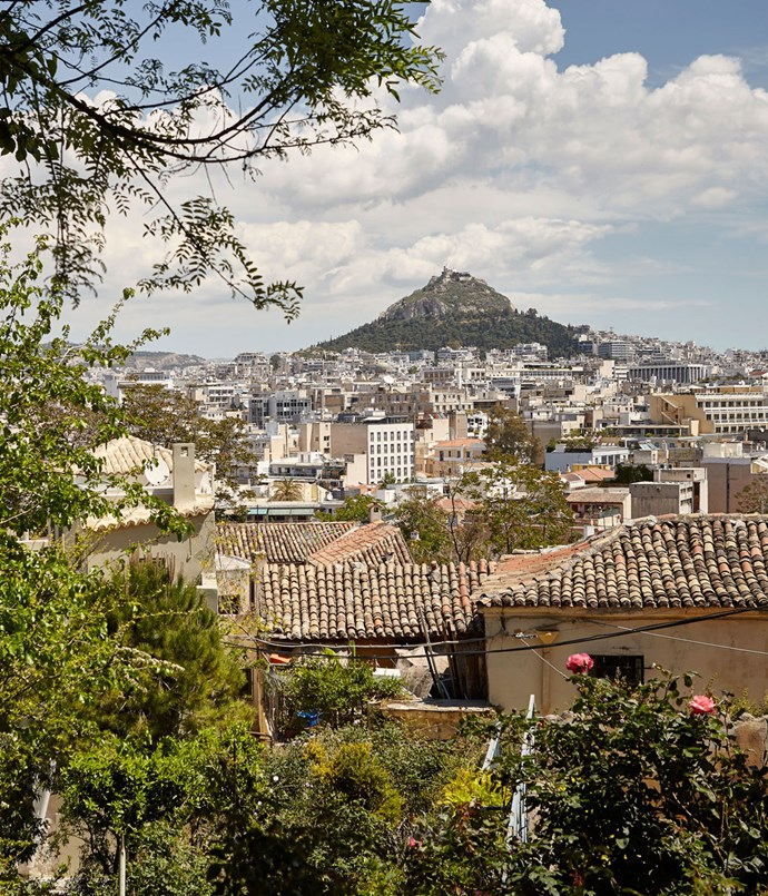 **Athens from the Pláka neighbourhood**