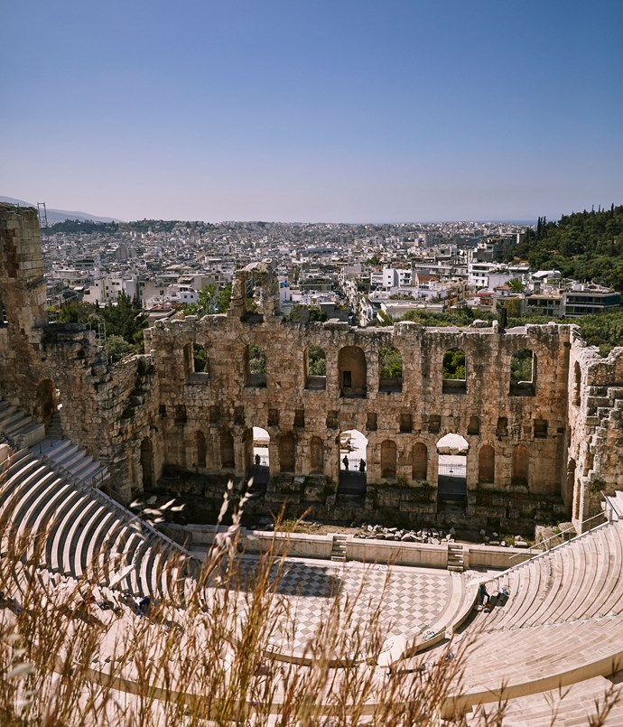 **The Odeon of Herodes Atticus, Athens**