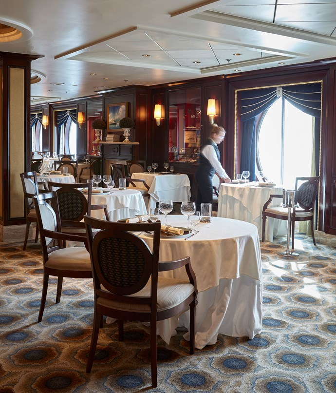 **Celebrity Constellation's Ocean Liner restaurant**