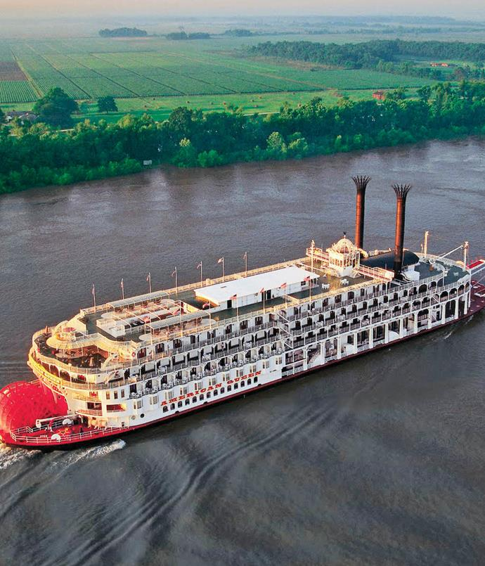 "**5. Southern belle** Among the first companies to introduce Australians to river cruising, Scenic has announced plans to build its first ocean-going expedition ship in 2018 - with a seven-seat submarine and two helicopters, no less. Among Scenic's diverse global cruising options is a leisurely voyage aboard a steam-powered paddlewheeler on the Mississippi. Starting with two nights in Nashville, this week-long cruise from Memphis ends in New Orleans, where travellers decamp to a hotel for three nights of live music and soul food.  _American Queen's 13-night ""Southern Belles and Mississippi Cruise"" departs Atlanta on 20 May and 11 November. [scenic.com.au](/<a href=""https:/www.scenic.com.au/"" rel=""nofollow"">scenic.com.au</a>)_"