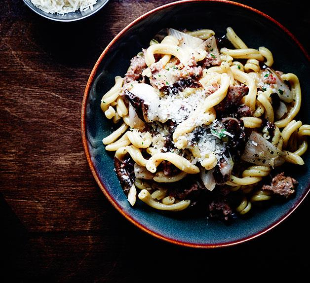 Tipo 00's casarecce with pork and fennel sausage ragù