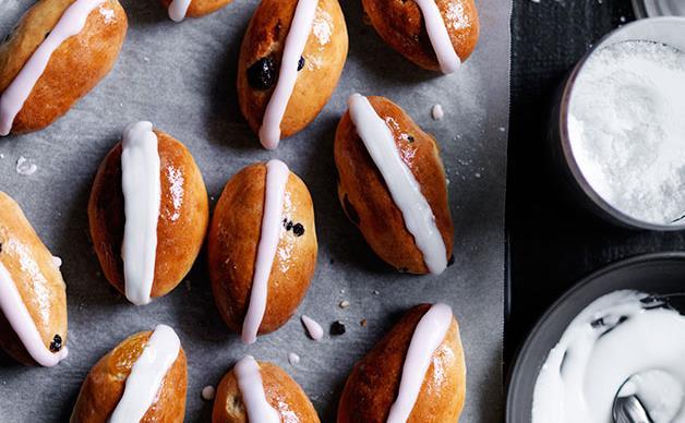 Mini finger buns