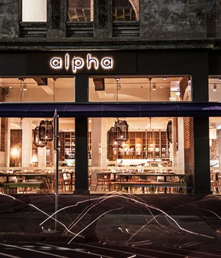 Alpha to open Beta, a striking new upstairs bar and eatery