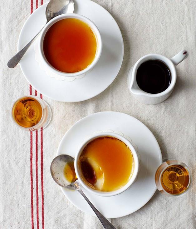 "[**Whisky caramel crèmes**](https://www.gourmettraveller.com.au/recipes/chefs-recipes/whisky-caramel-cremes-9024|target=""_blank"")"