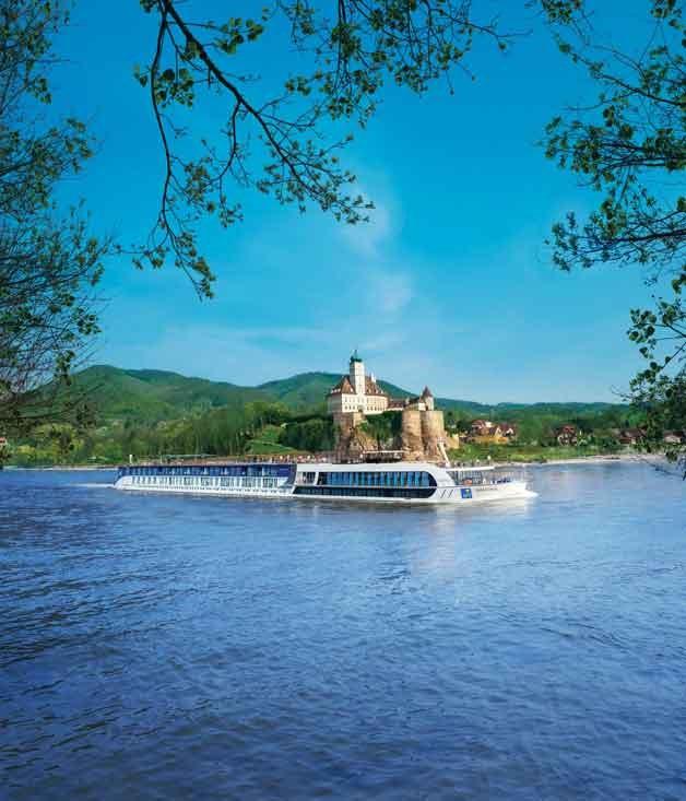 **APT** APT ship _AmaReina_on the Rhine in Germany.