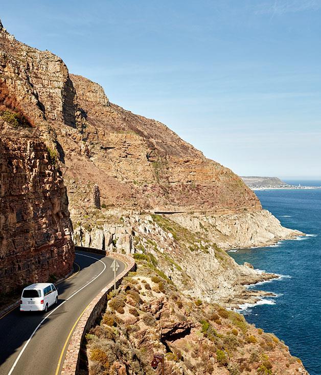 **Chapman's Peak Drive** Chapman's Peak Drive on Cape Town's Atlantic Coast