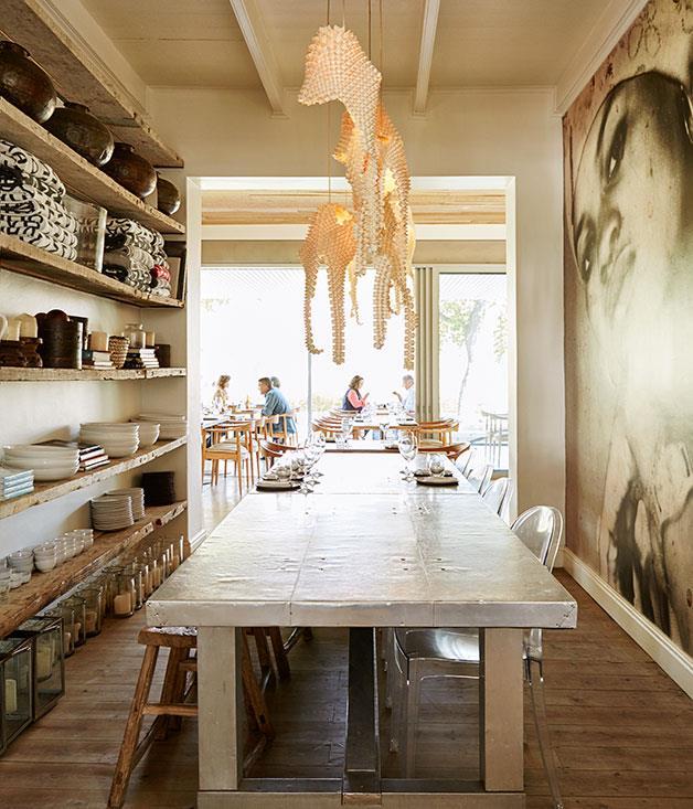 **Wine-tasting room at Maison Estate, Franschhoek** The wine-tasting room at Maison Estate, Franschhoek