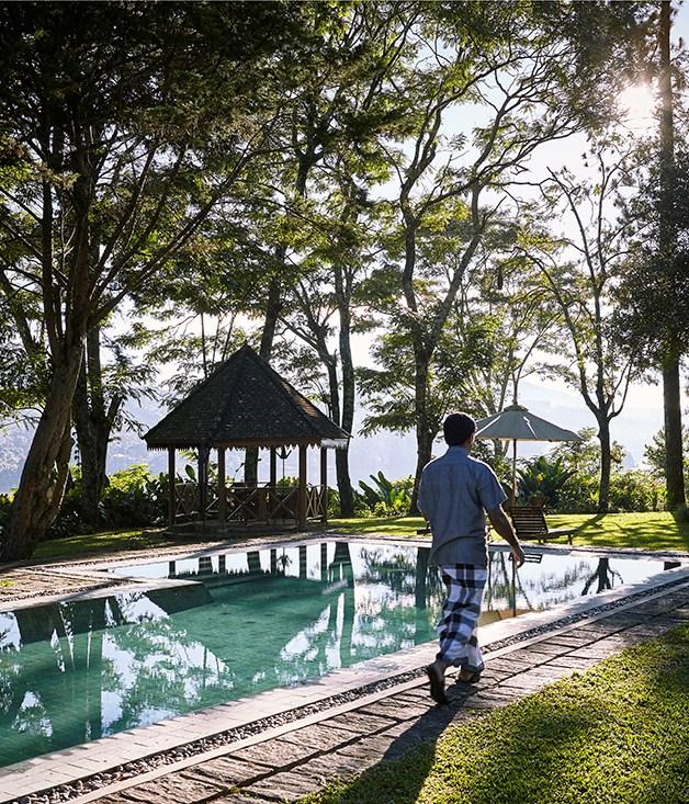 **Castlereagh Bungalow** Castlereagh bungalow's pool at Ceylon Tea Trails.
