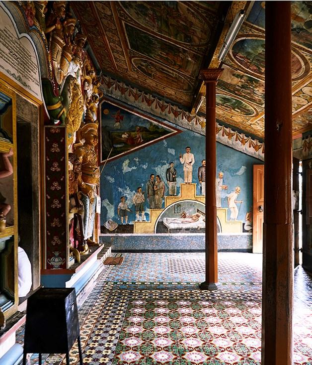**Yatagala Raja Maha Viharaya Buddhist temple** Yatagala Raja Maha Viharaya Buddhist temple in Galle.