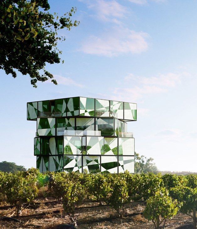 "**Cutting-edge cube** Rising dramatically from a vineyard in McLaren Vale is the d'Arenberg Cube, a striking five-storey architectural ""puzzle"" by ADS Architects that will house a new tasting room, bars, offices and a second restaurant at the family-owned d'Arenberg winery. The doors to the origami-like entrance are due to open in early 2017. A time-lapse camera, meanwhile, is capturing progress on construction every 10 minutes.   [darenberg.com.au ](http://www.darenberg.com.au)"