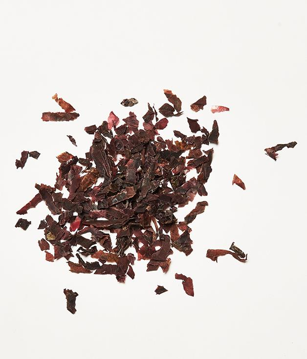 """**Taking the dulse** Kelp? Old hat. Wakame? Whatever. The sea vegetable of the moment (and let's just pause to savour the magic of sea vegetables being modish enough to have individual moments) might just be dulse. Smoky and packed with protein, you'll find it at [Aria](http://www.gourmettraveller.com.au/restaurants/restaurant-guide/restaurant-reviews/a/aria/aria/ """"Aria"""") or [LuMi](http://www.gourmettraveller.com.au/restaurants/restaurant-reviews/2014/12/lumi-sydney-restaurant-review/ """"LuMi"""") in Sydney, [Dinner by Heston Blumenthal](http://www.gourmettraveller.com.au/restaurants/restaurant-news-features/2015/10/ashley-palmer-watts-on-dinner-by-heston-blumenthal-melbourne/ """"Dinner by Heston Blumenthal"""") in Melbourne, or [GoMA](http://www.gourmettraveller.com.au/restaurants/restaurant-guide/restaurant-reviews/g/goma/goma-restaurant/ """"GOMA restaurant"""") in Brisbane."""