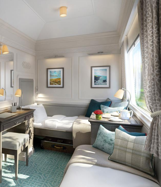 **Making tracks in Ireland** In the splendid style of The Royal Scotsman and the Venice Simplon-Orient Express, the Belmond Grand Hibernian will begin circumnavigations of Ireland in August. Belmond's seventh luxury train has 10 midnight-blue and silver carriages housing 20 ensuite cabins, plus two dining cars and an observation car, with carpets and furnishings made in Ireland and fitted at a Belfast workshop. The menus, too, promise to be a showcase of the Emerald Isle's finest produce. And whiskey, of course.      _[belmond.com ](http://www.belmond.com)_