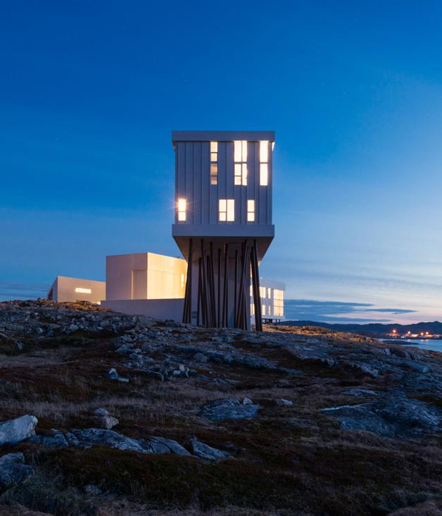 **Disappearing act** There's going off the grid and then there's going off the map. Canny travellers are logging the GPS coordinates of retreats in ever-more-remote locations. Among newcomers that have quickly developed cult followings are Fogo Island Inn, a striking Todd Saunders-designed property tethered to a lonely rock on the rugged coastline of Newfoundland, Canada. And eco-chic Yemaya Island Hideaway & Spa in Nicaragua's Corn Islands is accessible only by a flight and a boat trip. It's fast becoming a jet-set favourite, in spite of - or maybe because of - its remoteness.  _[fogoislandinn.ca](http://www.fogoislandinn.ca), [littlecornhotel.com](http://www.littlecornhotel.com)_