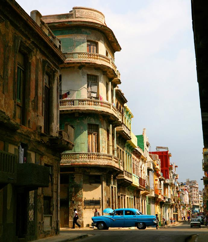 **Cuba libre** There go the charming, time-capsule neighbourhoods. McDonald's hasn't staked a claim in Havana just yet, but American tourists are about to arrive en masse in Cuba following the détente between the Cold War foes, and Barack Obama's highly symbolic visit in March. The first commercial flights in 50 years between the US and Cuba are expected to take off late this year, sparking a tourism boom the likes of which the Caribbean island has never known. In the meantime, everyone else is flocking to see Old Havana before it changes forever.      _[cubatravel.tur.cu ](http://www.cubatravel.tur.cu)_