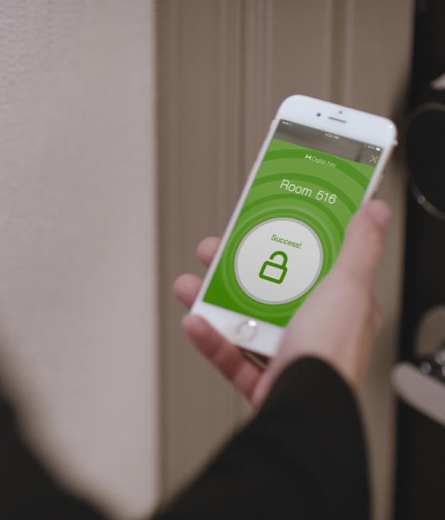 **Digital keys** The youthful, tech-forward Aloft hotel chain was among the first to harness smartphones as hotel keys. Using bluetooth technology, an in-house app and ubiquitous handheld devices, room access is now as easy as pushing a button on your phone. Fellow Starwood brands W and Element have joined in; Hilton and Hyatt aren't far behind.