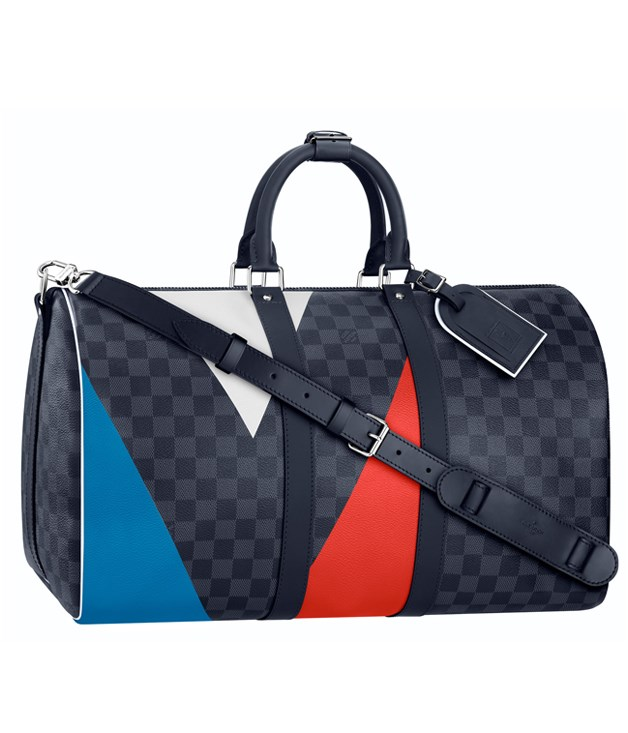 "**Hello, sailor** For America's Cup contenders, weekend yachties and naval-gazers, Louis Vuitton's limited-edition America's Cup collection fills the stylish yachtsmen's kit, from chunky knitwear and cargo shorts to swimwear and this Regatta Keepall Damier 55 bag in cobalt canvas.  _Regatta Keepall Damier 55 bag in cobalt canvas, $2,960,[ louisvuitton.com.au ](http://www.louisvuitton.com.au ""Louis Vuitton"")_"