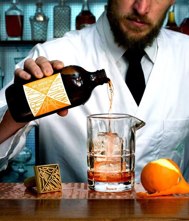 "**DRINK: Batched cocktails** The [batched-cocktail trend](http://www.gourmettraveller.com.au/drinks/drinks-features/2016/3/cocktails-by-the-batch/) is taking off and it's being adopted by some of Australia's top bartenders. Matt Bax started serving a bottled Americano when his tiny Bar Americano opened in 2011 in Melbourne's CBD, and he added a Negroni a couple of years ago. ""We serve from the bottle at Bar Americano, not for consistency or speed, but to demonstrate the authenticity of our bottled cocktails. It's the very same hooch you can take home,"" says Bax.   _Bar Americano, 20 Presgrave Pl, Melbourne, Vic, (03) 9939 1997, _ [baramericano.com](file:///C:/Users/ASaaib/Desktop/baramericano.com)"