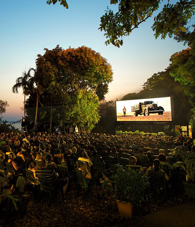 **WATCH: Deckchair Cinema** This open-air cinema on the edge of the scenic Darwin Harbour screens a diverse range of Australian, foreign, popular and classic films. Before your movie starts, watch the sunset over the sea and enjoy the tropical garden setting with a meal and a drink from local suppliers.   _Tickets $16, gates open 20 April, 6:30pm, Darwin Harbour, NT,_ [deckchaircinema.com](/deckchaircinema.com)