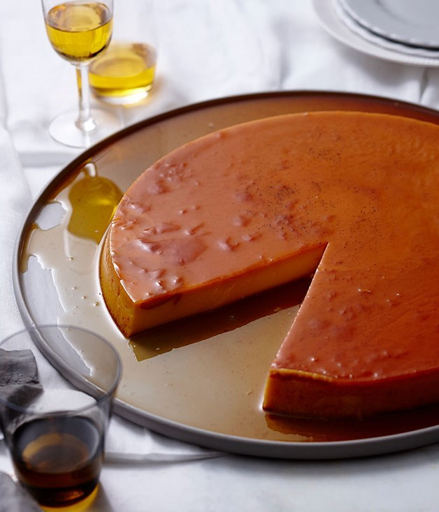 "[**Crème caramel**](https://www.gourmettraveller.com.au/recipes/browse-all/creme-caramel-14226|target=""_blank"") <br><br> One of the most famed French desserts, crème caramel - a winning combination of just two components - is testimony to the notion the simplest things are often the best. And of course success lies in making each of these components, custard and caramel, the best they can be."