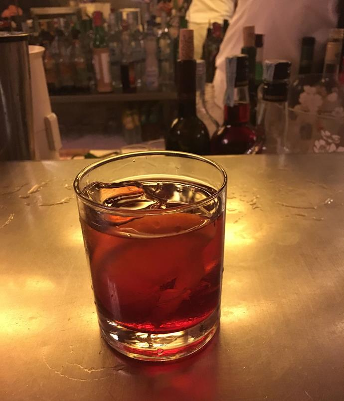 """**Bar Basso opening night block party** """"To celebrate the first day of our show we visited Bar Basso for a few Negroni Sbagliatos. These were said to have been invented (by mistake) at this exact drinking hole in the early '70s. We were joined by hundreds of others to celebrate the first day of Salone, including artist Lee Broom, who drove his industrial delivery van all the way from East London to Milano to host a block party and lighting installation just outside the bar.""""  _Bar Basso, via Plinio, 39, Milano, [barbasso.com](/<a href=""""http:/barbasso.com/main"""" rel=""""nofollow""""> barbasso.com</a>); [leebroom.com](/<a href=""""http:/leebroom.com/"""" rel=""""nofollow""""> leebroom.com</a>)_"""