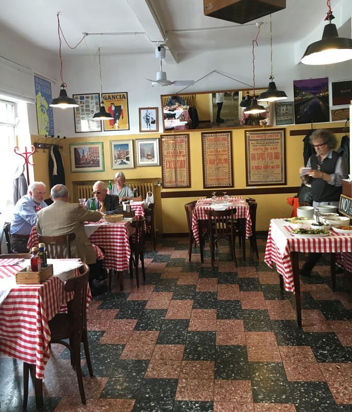 **Lunch at Trattoria Madonnina**