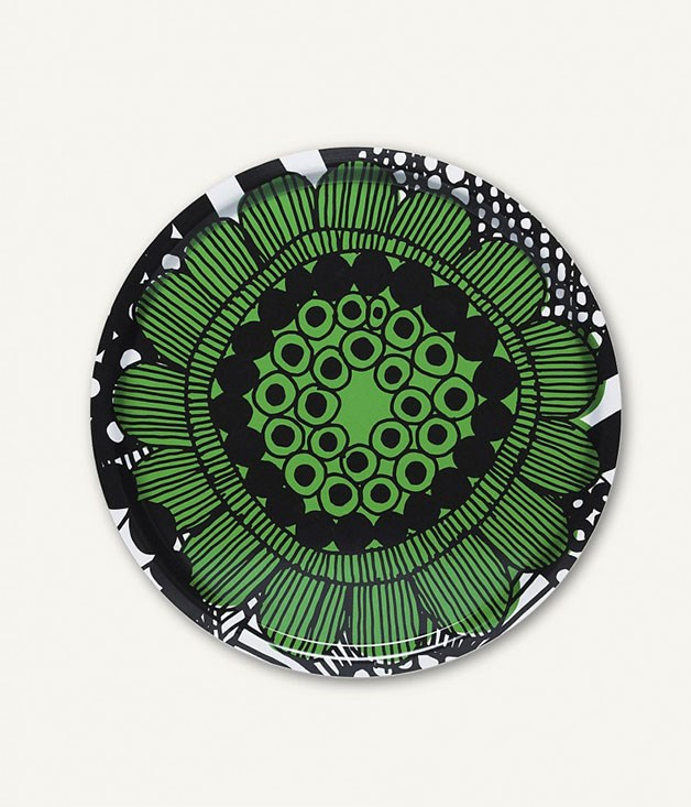 **Marimekko tray** A Marimekkomulti-purpose display tray will add an easy splash of colour and Scandi charm to mum's kitchen, bathroom or lounge room. _$46,marimekko.com_