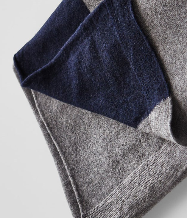 **In Bed cashmere throw** Give mum the warm and fuzzies with her very own luxe cashmere throw. And just in time to kick any winter blues to boot. _$380, inbedstore.com_