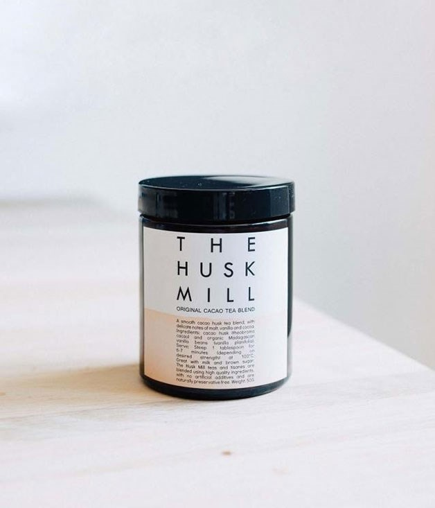 **The Husk Mill cacao tea** This is the answer for a mum with a soft spot for deep reads and dark chocolate. Sydney's Husk Mill tea company has blended two classic winter comforts - chocolate and tea - into one ultra-rich brew. _$13, available from sorrythanksiloveyou.com_