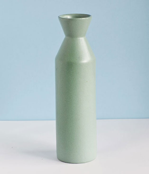 **Anekka vase** Life is busy, but this simple matte or gloss Melk vase from Anekka doubles as a pouring jug - and what's not to like about that? _$48, anekka.com_