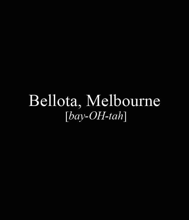 **** Bellota, 181 Bank St, South Melbourne, (03) 9078 8381, [bellota.com.au](http://bellota.com.au/)  _[Read our review of Bellota here](http://www.gourmettraveller.com.au/restaurants/restaurant-reviews/2013/10/bellota-melbourne/)._