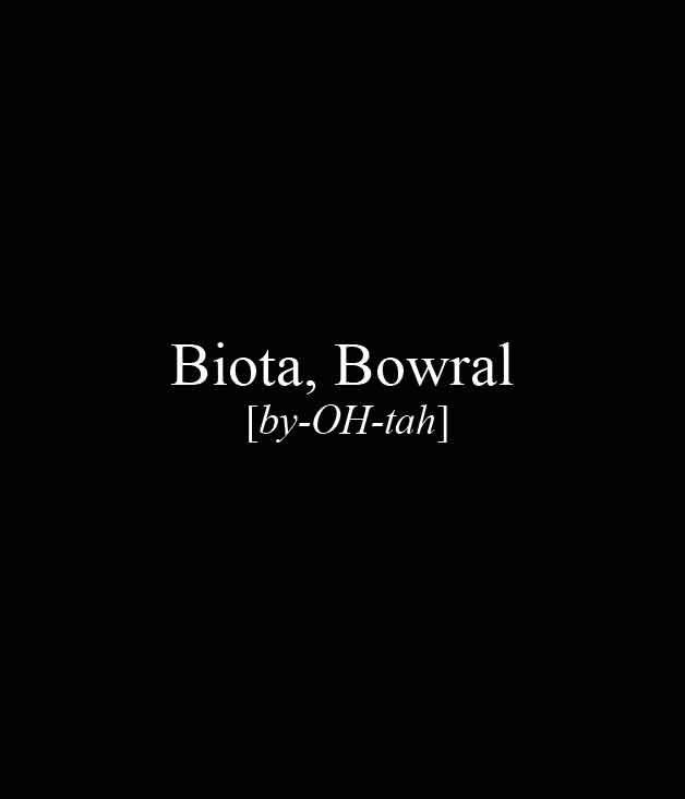 **** Biota, 18 Kangaloon Rd, Bowral, (02) 4862 2005, [biotadining.com](http://www.biotadining.com/)  [_Read our review of Biota here._](http://www.gourmettraveller.com.au/restaurants/restaurant-guide/restaurant-reviews/b/biota/biota-dining/)