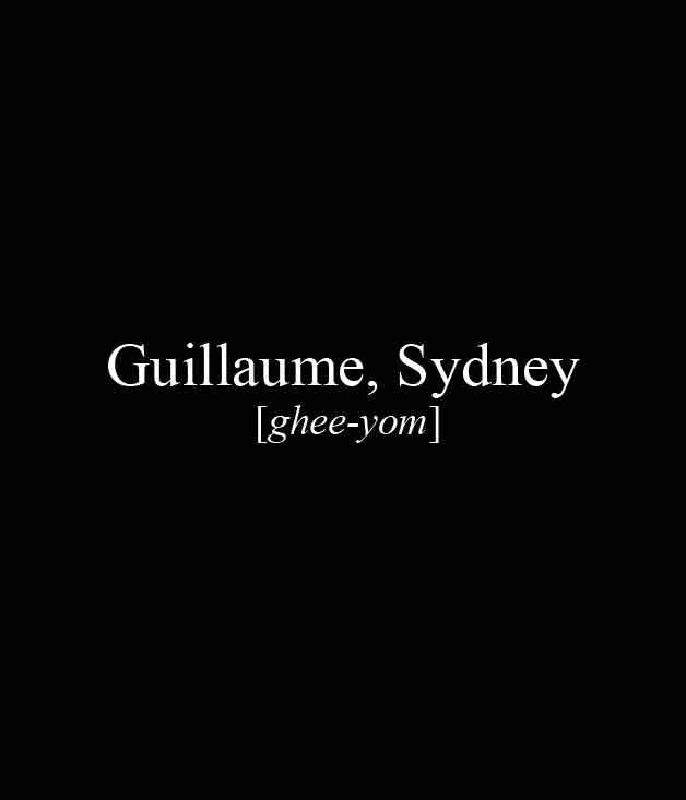 **** Guillaume,92 Hargrave St, Paddington, (02) 9302 5222, [guillaumes.com.au](http://www.guillaumes.com.au/)  _[Read our review ofGuillaume here.](http://www.gourmettraveller.com.au/restaurants/restaurant-reviews/2014/9/guillaume-sydney/)_