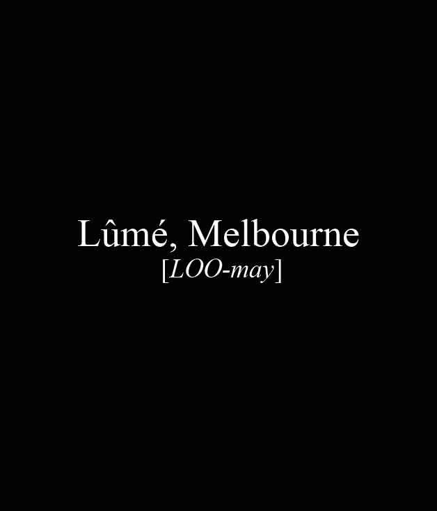 **** Lûmé, 226 Coventry St, South Melbourne, (03) 9690 0185, [restaurantlume.com](http://www.restaurantlume.com/)  _[Read our review of Lûmé here.](http://www.gourmettraveller.com.au/restaurants/restaurant-news-features/2015/7/lume-melbourne/)_