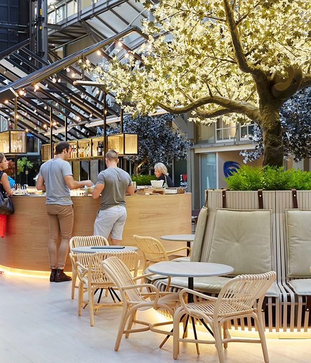 **Ovolo Woolloomooloo, NSW** _Ovolo Woolloomooloo, 6 Cowper Wharf, Woolloomooloo, NSW, [ovolohotels.com/en/hotels/sydney/ovolo-woolloomooloo](http://www.ovolohotels.com/en/hotels/sydney/ovolo-woolloomooloo/)_