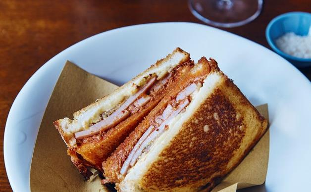 Toasted sandwiches as bar snacks